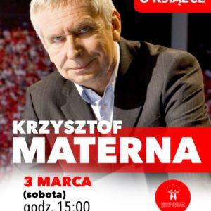 Krzysztof Materna rozmawia oksiążce