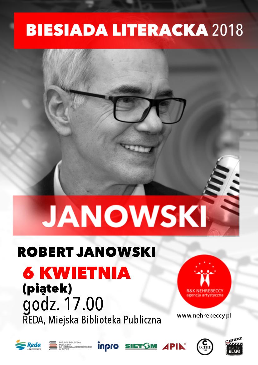 Biesiada Literacka zRobertem Janowskim