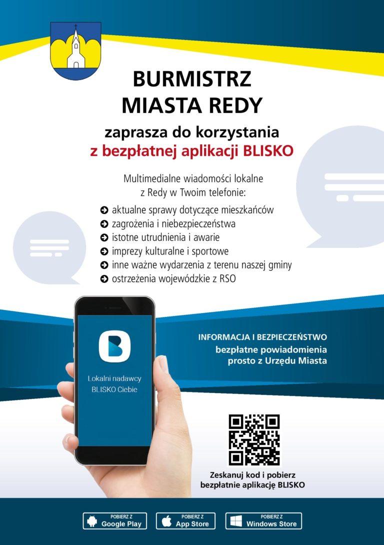 Reda ma już aplikację BLISKO
