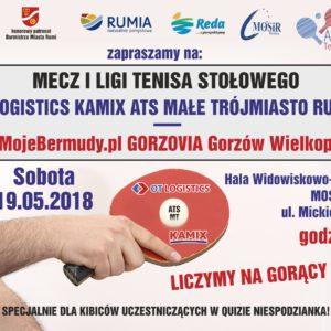 Ostatni mecz zmagań ILigi Tenisa Stołowego sezon 2017/18