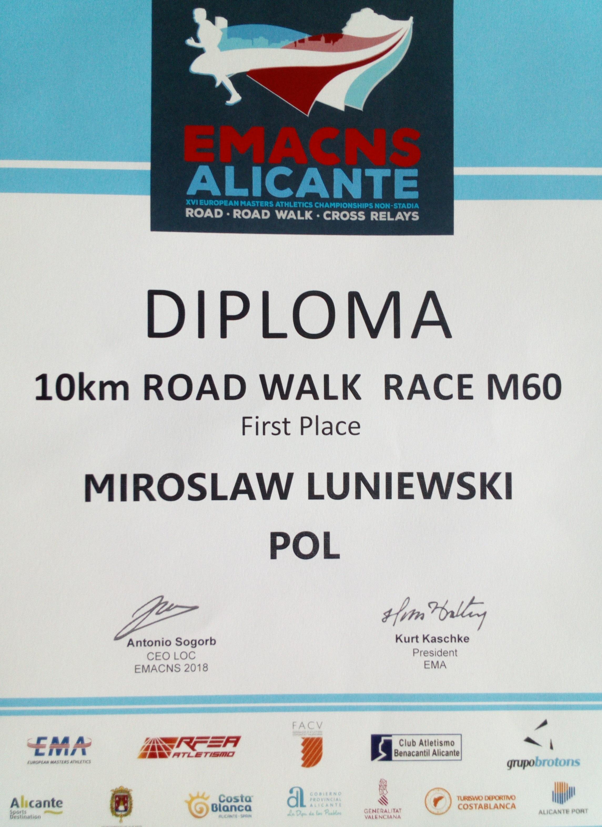 Mirosław Łuniewski mistrzem Europy!