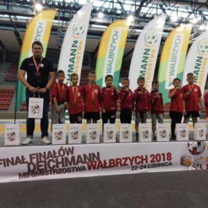 Młodzi piłkarze wrócili z Wałbrzycha