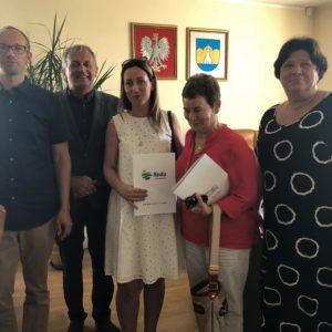 Podpisano umowy nadofinansowanie pobytu dzieci wżłobkach iklubie dziecięcym funkcjonujących naterenie Gminy Miasto Reda
