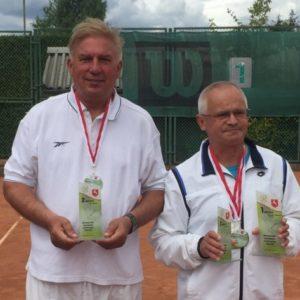 Sukcesy dyrektora MOSiR-u na Mistrzostwach Polski Samorządowców w tenisie ziemnym