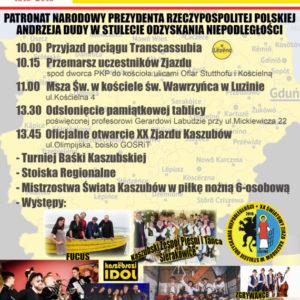 W sobotę wszyscy Kaszubi jadą do Luzina!