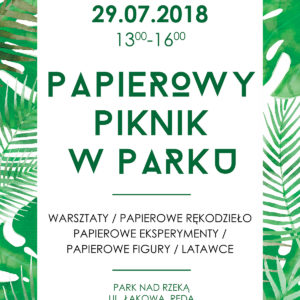 Zapraszamy na Papierowy Piknik