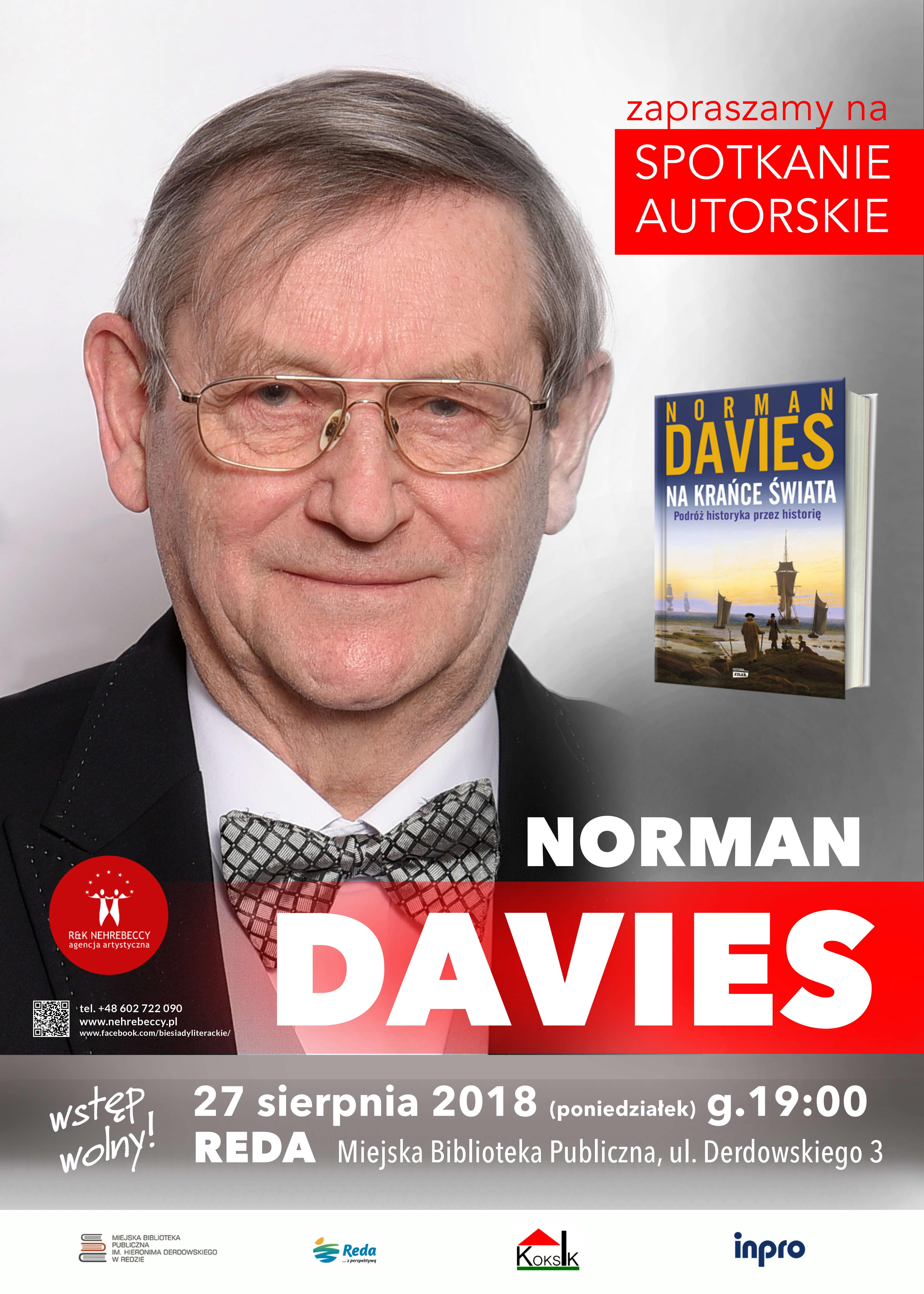 NORMAN DAVIES wMiejskiej Bibliotece Publicznej wRedzie