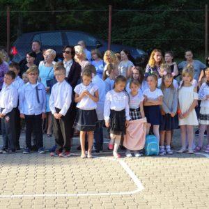 Inauguracja roku szkolnego 2018/2019 wSzkole Podstawowej nr5 wRedzie
