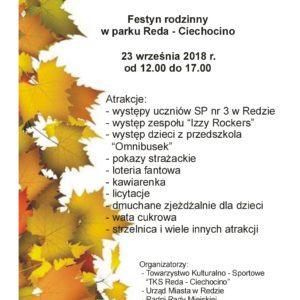 ZAPRASZAMY NA FESTYN W CIECHOCINIE!