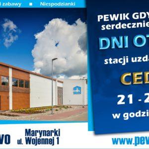 21 – 22 września zapraszamy na Dni Otwarte stacji uzdatniania wody CEDRON w Wejherowie