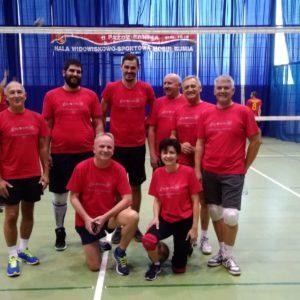 Reprezentacja Redy grała w Rumi w siatkówkę