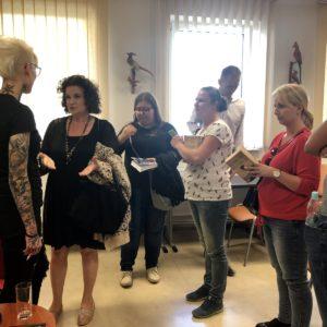 Biblioteka gościła Katarzynę Puzyńską