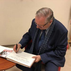 Krzysztof Zanussi odwiedził Redę.