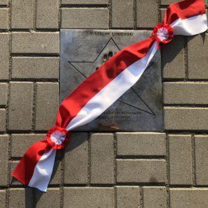 Odsłonięto tablicę Mirosława Łuniewskiego
