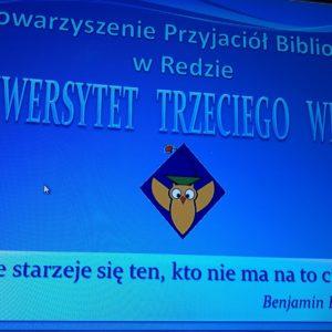 Rozpoczął się XXIX semestr Uniwersytetu Trzeciego Wieku