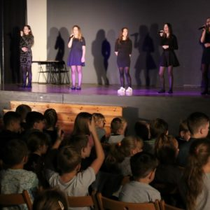 Występ zespołu KROPELKI wSP 4 – 7.11.2018 r.