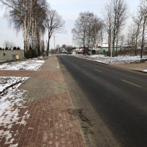 Zakończono Ietap budowy ul.Polnej wRedzie