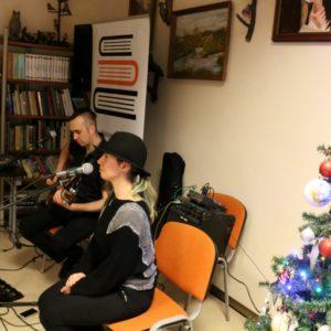 Koncert duetu IN HARMONY wobiektywie