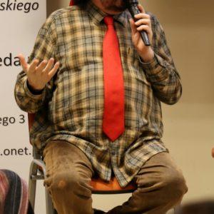 Zbigniew Hołdys odwiedził Redę