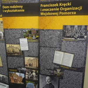 Wystawa poświęcona dr Franciszkowi Kręckiemu