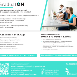 Studencie, absolwencie szkoły wyższej – tojest Twójczas, aby zdobyć doświadczenie zawodowe