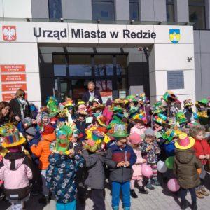 Parada Wiosenna dzieci zSP 4