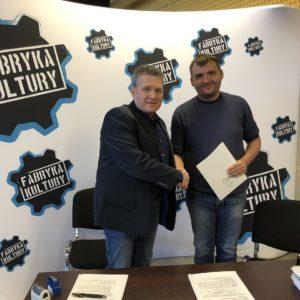 Podpisano umowę narozbudowę Fabryki Kultury wRedzie!