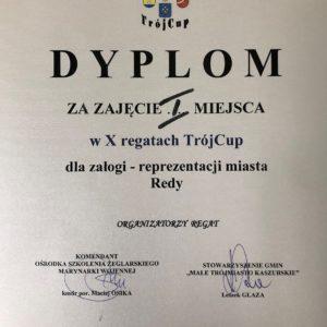 Reda zwyciężyła wX Regatach TRÓJCUP 2019