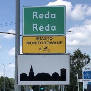 Dwujęzyczne tablice na granicach Redy!