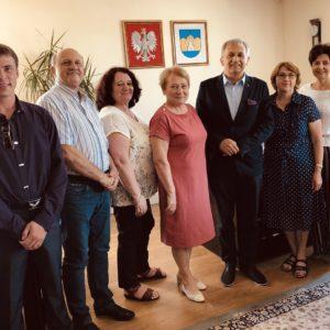 Samorządy partnerskie odwiedziły Redę