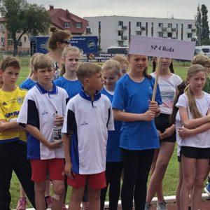 Dziewczęta zSP 4 Mistrzami Województwa wTrójboju Lekkoatletycznym!