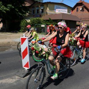 Rowerzyści przejechali…