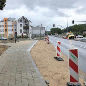 Droga Krajowa nr 6️ przejezdna po dwóch pasach ruchu w obu kierunkach!