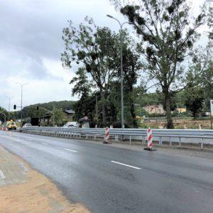 Droga Krajowa nr6️ przejezdna podwóch pasach ruchu wobu kierunkach!