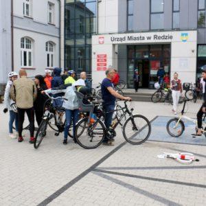 Wspólny przejazd rowerowy