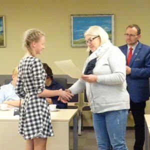 Zainaugurowano V kadencję Młodzieżowej Rady Miejskiej wRedzie