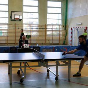 Iliga tenisa stołowego wSP 2 – pasjonujący mecz zanami