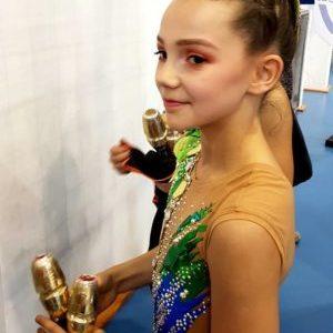 11-letnia Redzianka Mistrzynią Polski w gimnastyce artystycznej!