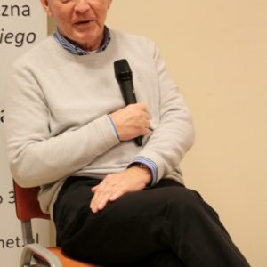 Jerzy Dziewulski spotkał się zczytelnikami