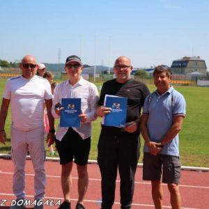 Redzianie nagrodzeni zokazji Jubileuszu 100-lecia  Polskiego Związku Lekkiej Atletyki