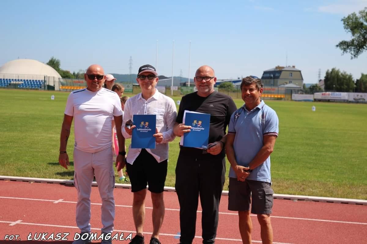 Redzianie nagrodzeni z okazji Jubileuszu 100-lecia  Polskiego Związku Lekkiej Atletyki