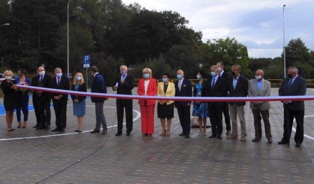Otwarcie nowego parkingu przy Szpitalu Specjalistycznym wWejherowie