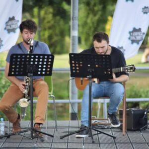 JK Duo zagrali wParku Miejskim