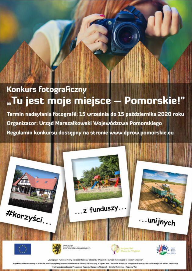 """Konkurs fotograficzny """"Tu jest mojemiejsce – Pomorskie!"""""""