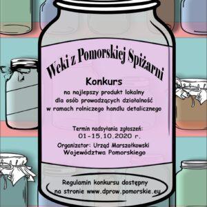 """Konkurs """"Weki z Pomorskiej Spiżarni"""""""