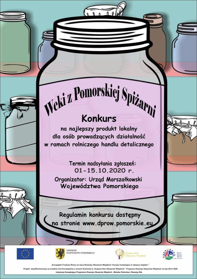 """Konkurs """"Weki zPomorskiej Spiżarni"""""""