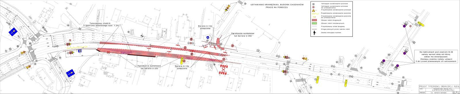 UWAGA KIEROWCY! Prace drogowe naskrzyżowaniu Gdańskiej iŁąkowej