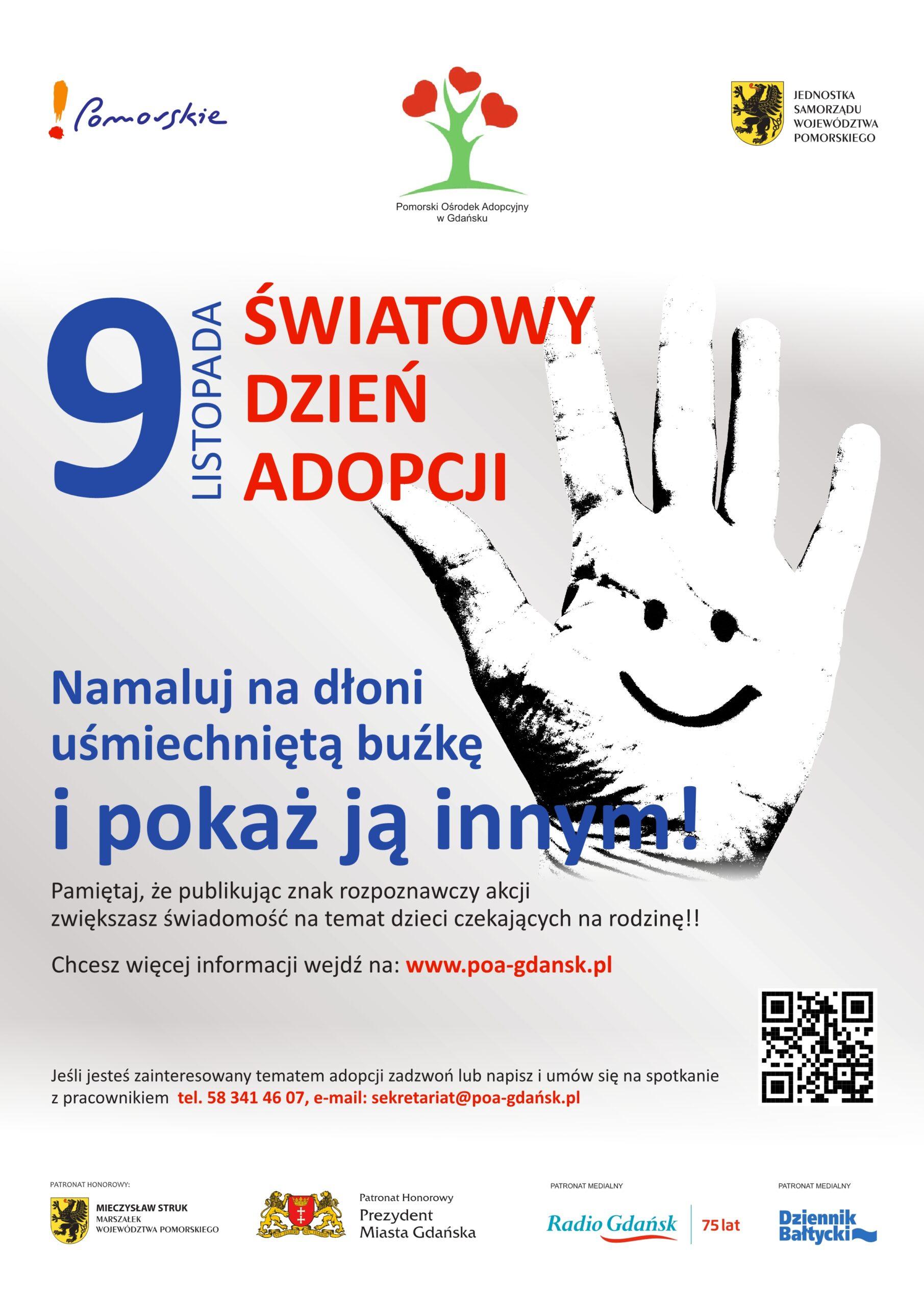 9 listopada – Światowy Dzień Adopcji
