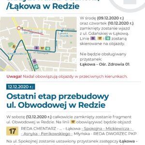Roboty na Obwodowej i Łąkowej – zmiany w organizacji ruchu