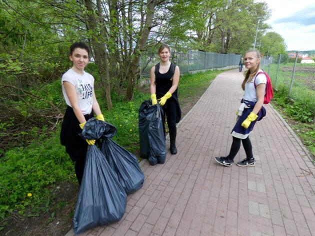 Wielkie sprzątanie rzeki i miasta